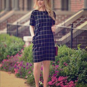J. Jill Ponte Autumn 🍂 Knit Shift Dress, Large